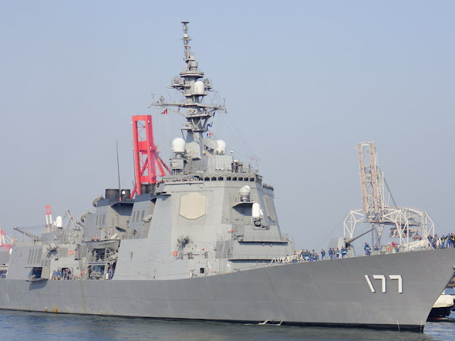 Japanese Destroyer Ship Successfully Launches SM-3® Blok IB