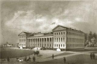 В мае 1821 года отец привёз сюда юного Гоголя
