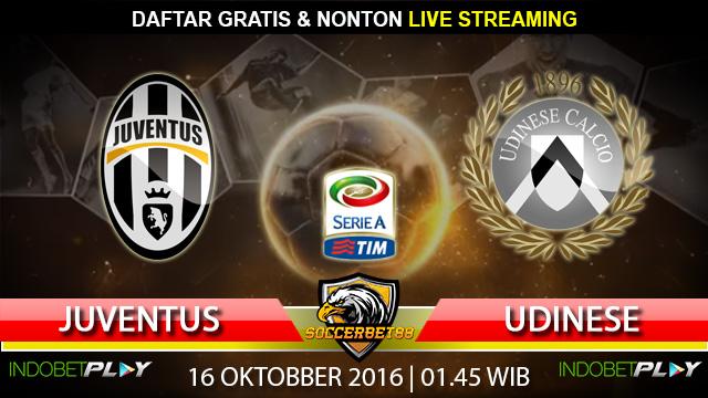 Prediksi Juventus vs Udinese 16 Oktober 2016 (Liga Italia)