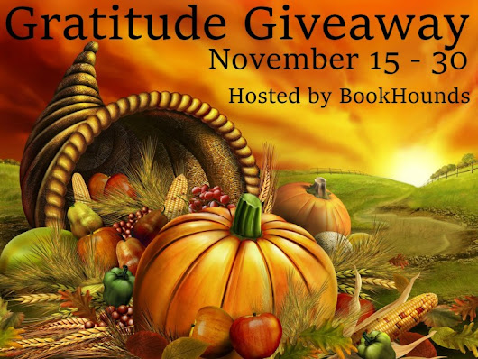 The Gratitude Giveaway is here!