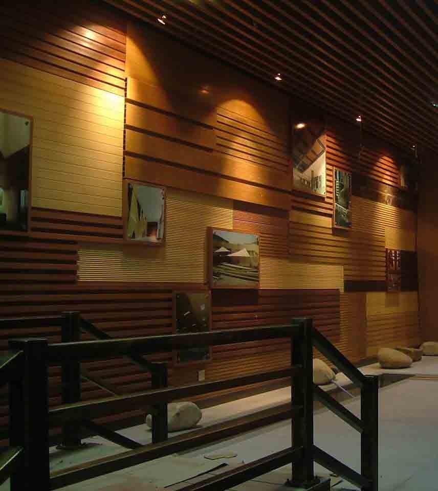 Foundation Dezin & Decor...: 3D Wood Wall Panels