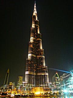 Menara tertinggi di dubai