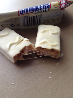 snickers white chocolate