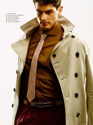 Esquire, Sacha Legrand, supermodel, Adele Obice, Alberto Raviglione, menswear, photoshoot, Magazine, spring 2016, style, Suits and Shirts,