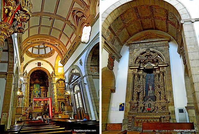 Altares da Igreja de São Gonçalo do Amarante