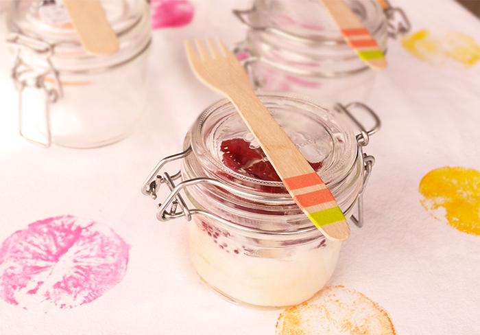 i gelati alla frutta fresca
