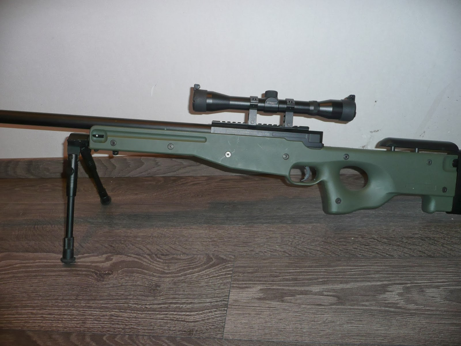 delta force belgium: Painted my .308 sniper, looks more ...