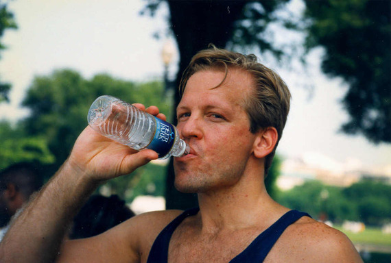 drink water during workouts