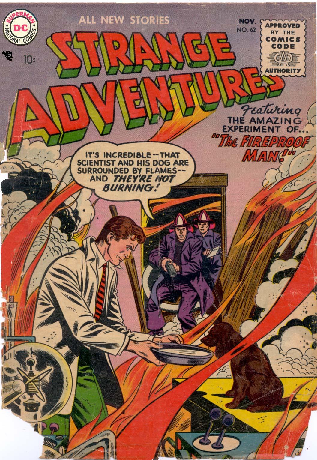 Strange Adventures (1950) issue 62 - Page 1