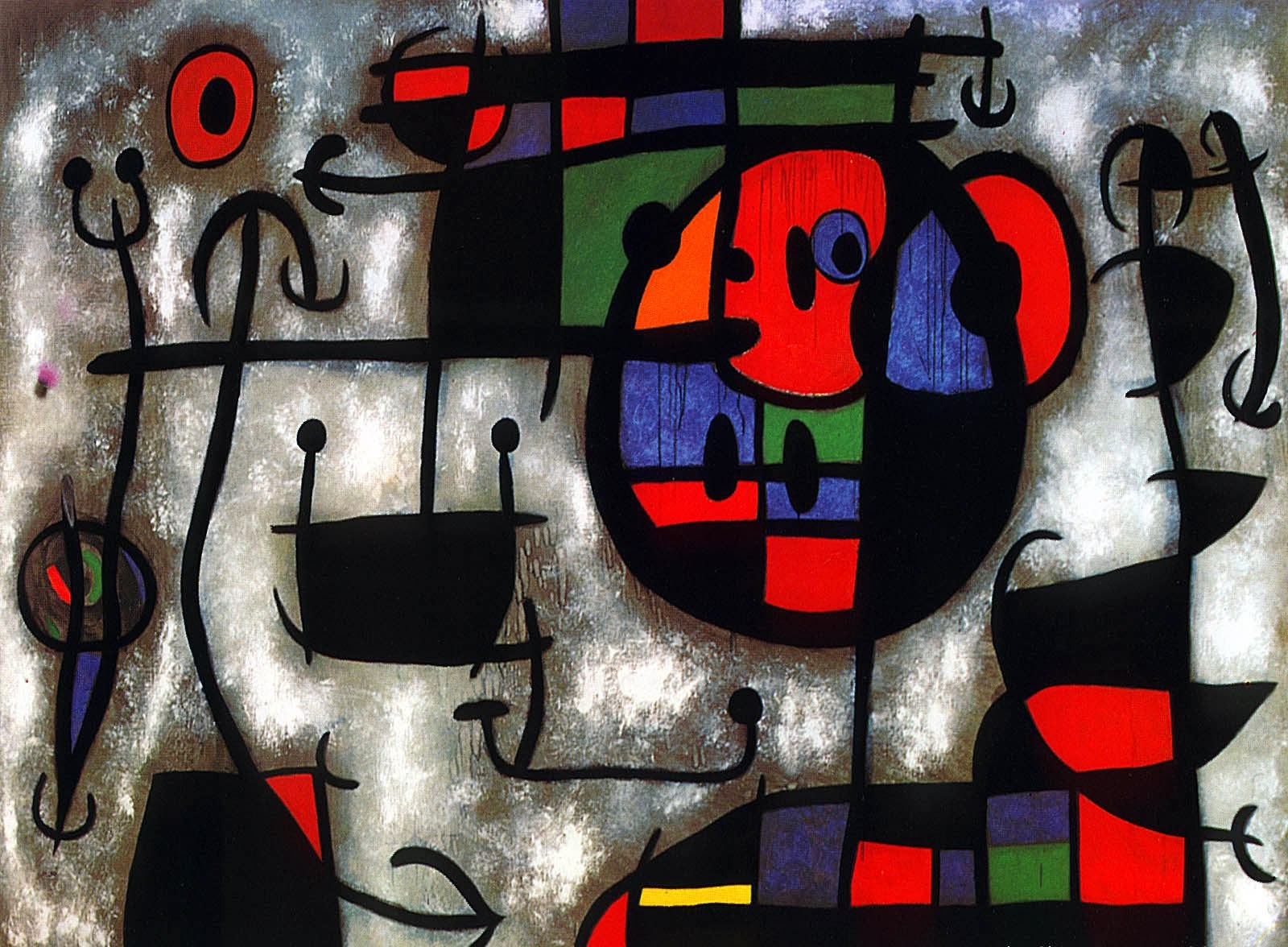 Joan Miro Solitary Dog Sculptor Painter Miro Joan Part 7 Links