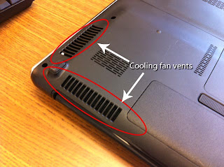 Laptop Cooling Increases Battery Life