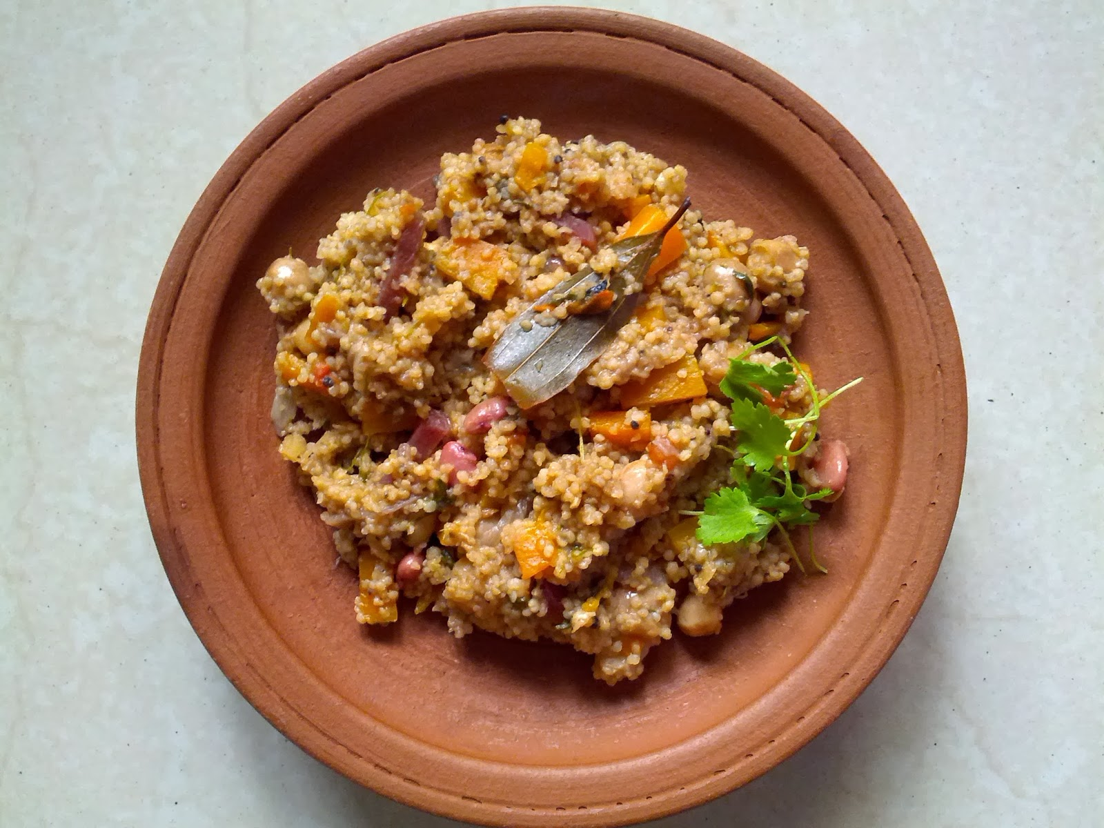 Kodo millet Vegetable biriyani