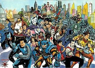 Cómics Superhéroes Universo Valiant como Bloodshot, XO Manowar o Shadowman