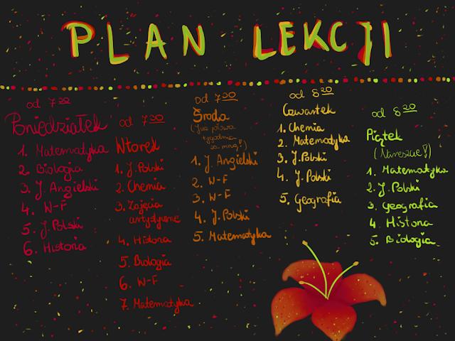 plany lekcji randek dla liceum