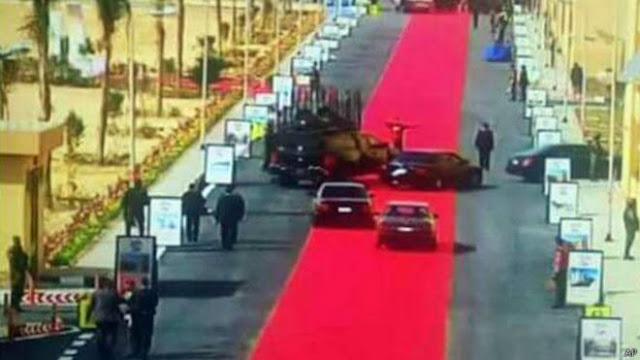 Karpet Merah Assisi di Kecam Rakyatnya