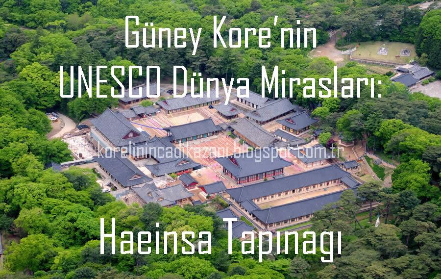 Güney Kore'nin UNESCO Dünya Mirasları: Haeinsa Tapınağı
