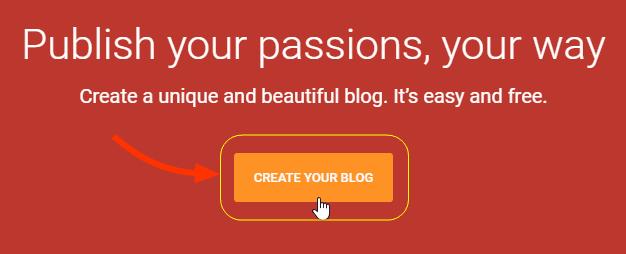 Cara Buat Blog Gratis dg Blogger Full Gambar