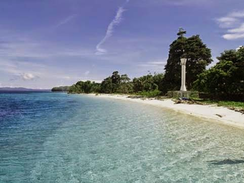 pantai ini tidak terlalu jauh dari kota Ambon sehingga memudahkan para wisatawan untuk me Objek Wisata Pantai Natsepa Maluku Tengah