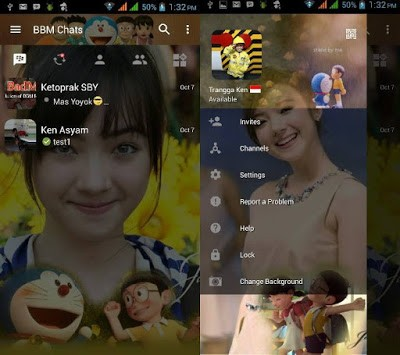 Download BBM Doraemon v3.0.1.25 APK