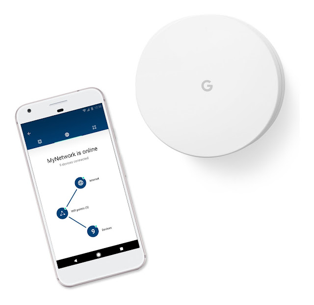 Google WiFi Solusi Router Canggih