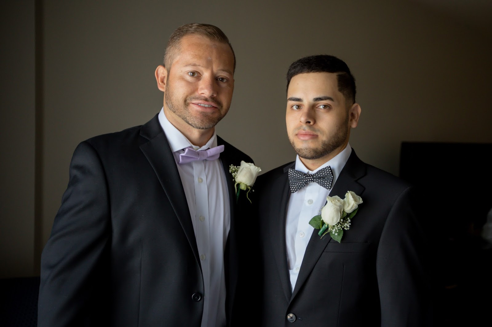 Best Man and Groom, Brothers