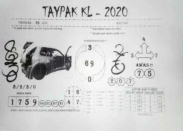 Kode syair Hongkong Sabtu 25 Juli 2020 56