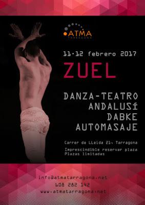 Zuel, talleres de danza andalusí, dabke, danza-teatro y masaje en Tarragona