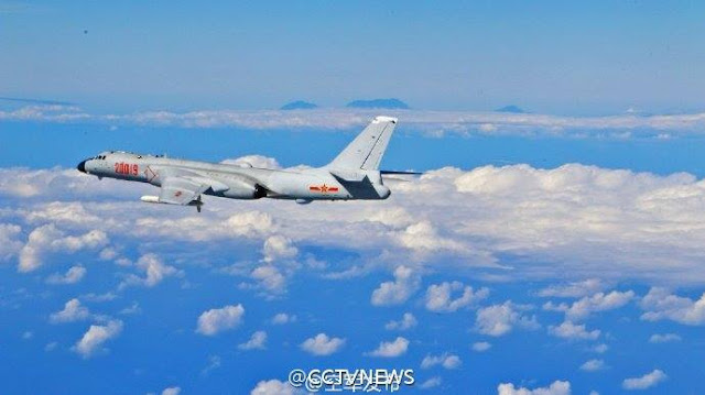 The recent patrols over the East and South China Seas