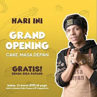 Alamat Cake Masa Depan by Atta Halilintar di Yogyakarta