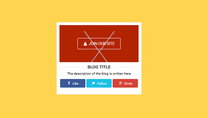Installing the Social Media Widget Box on the Blog