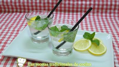 Receta fácil y rápida de rebujito muy refrescante y delicioso