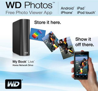 Western Digital brings WD Photos photo viewer app to Android platform