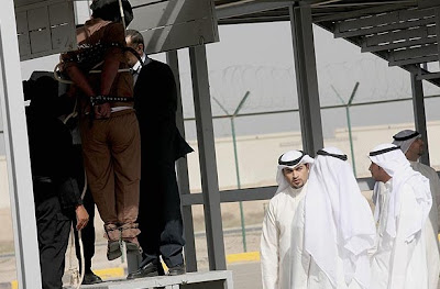 Triple hanging in Kuwait in April 2013