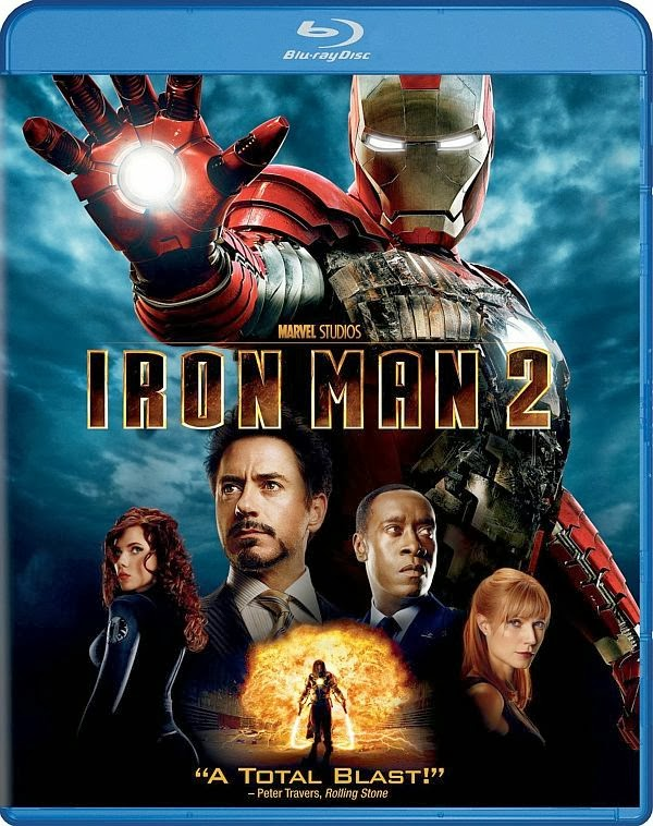 Iron Man 2 2010 Hindi Dubbed Dual BRRip 350mb