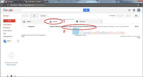buat akun instagram lewat google email