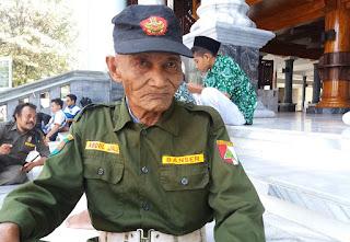 Usia 92 Tahun, Kakek Jalil Tetap Istiqomah Bersama Banser