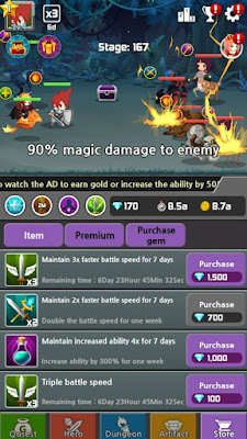 Dragon Warriors : Idle RPG Mod Apk For Android