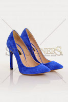 Pantofi Mineli Boutique Magnetic Blue (Mineli Boutique)
