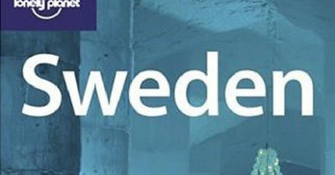 lonely planet sweden book