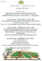 Besplatne radionice Udruge Ekološki proizvođači otoka Brača Dračevica slike otok Brač Online