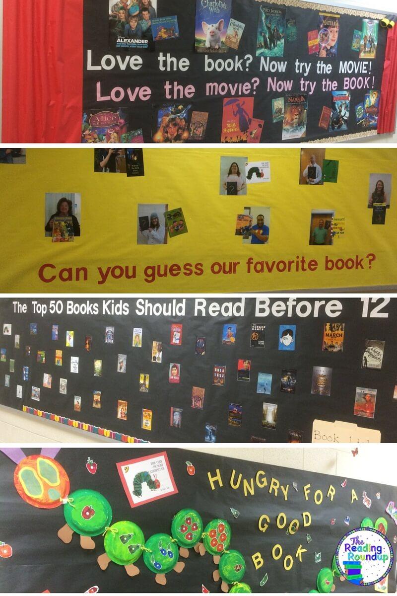 The Reading Roundup: Children's Books Bulletin Board Ideas