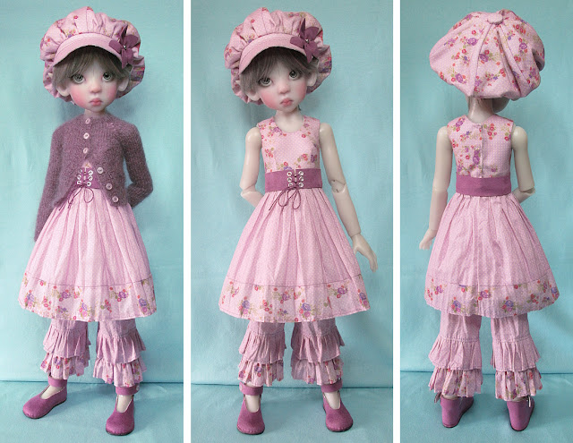 ooak outfit for Kaye Wiggs MSD