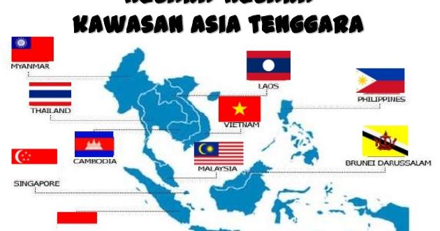 Gambar Negara Asean Beserta Ibukotanya 11 Negara Asia Tenggara Dan Ibukotanya Lengkap Fakta Dan Info Daerah Indonesia