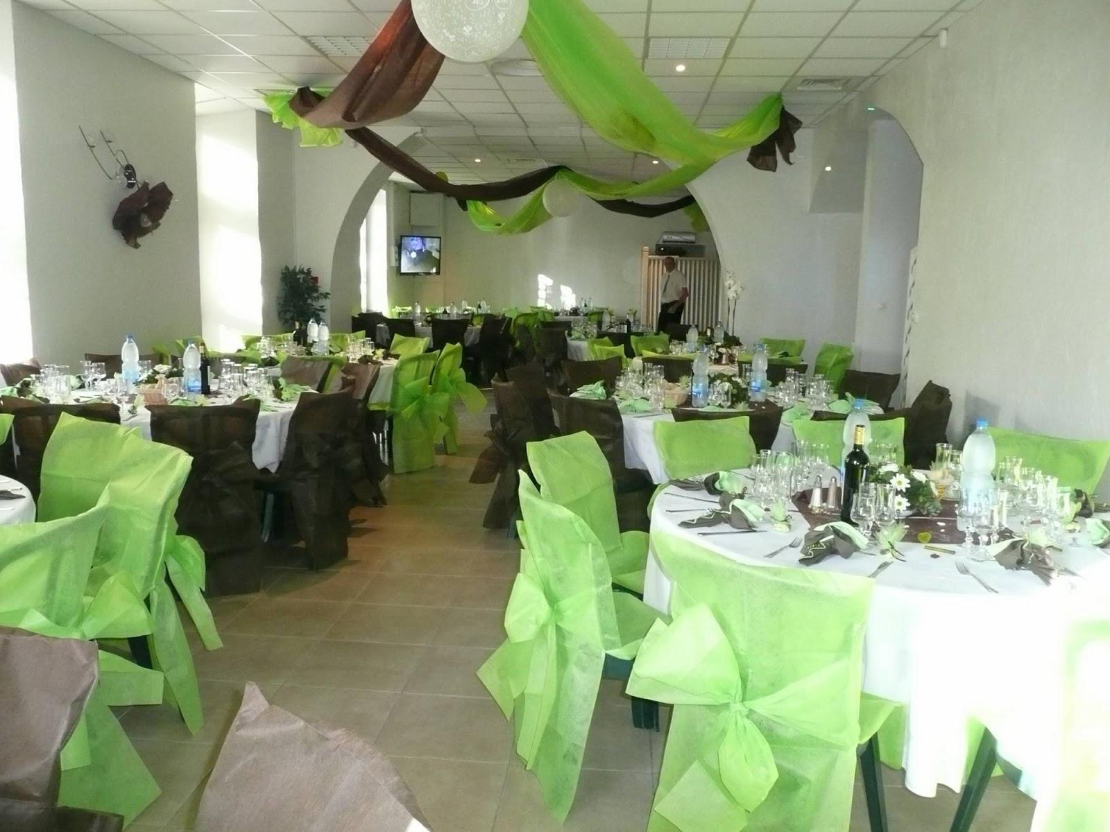 Decoration Fond De Mariage Vert Emeraude