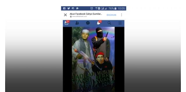 Buat Meme Tentang Jokowi, Cahyo Diciduk Bareskrim