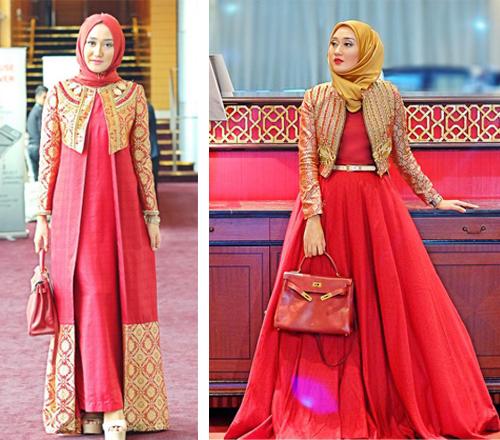 14 Contoh Gambar Desain Model Baju Dian Pelangi Paling