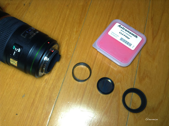 DA*200 用後置光害濾鏡 light pollution rear-filter