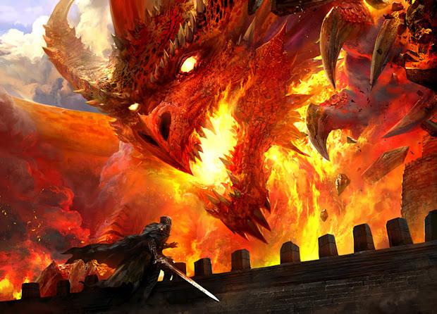 Dsng' Sci Fi Megaverse Fantasy Dragons Concept Art
