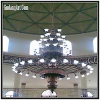 lampu gantung masjid 06