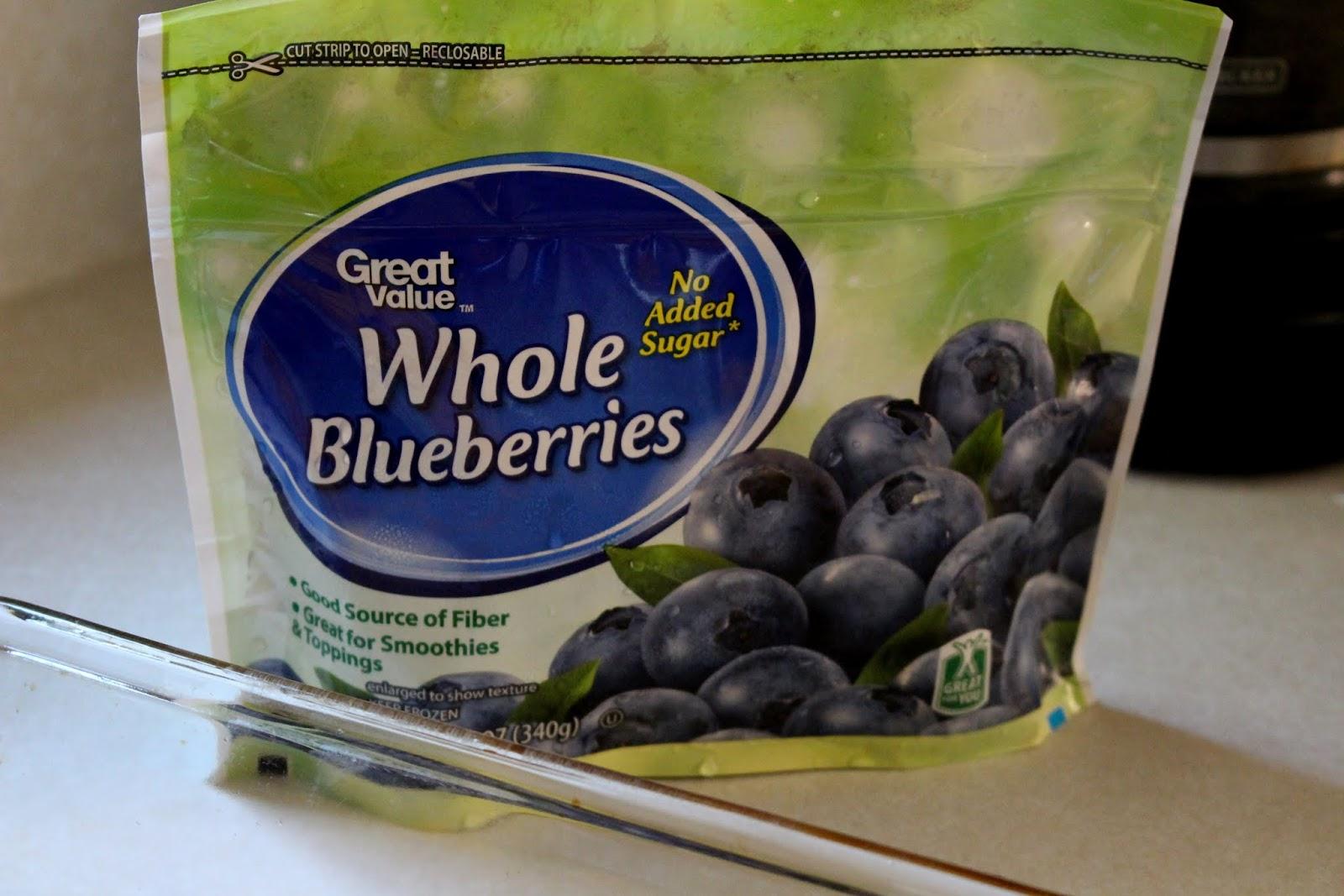 frozen whole blueberries